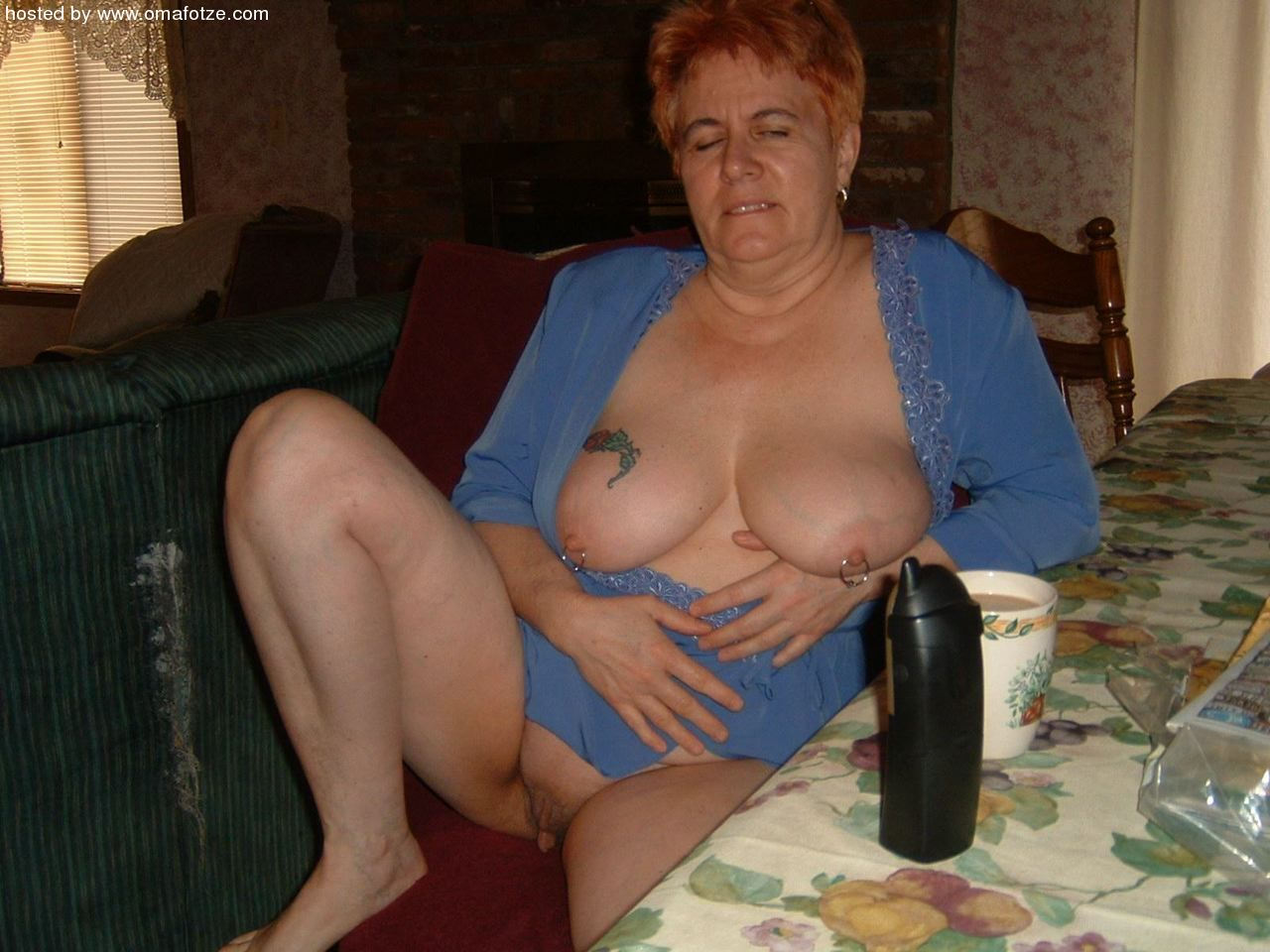 Horny amateur grannies are